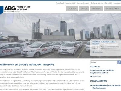 Neuer Kunde: ABG FRANKFURT HOLDING