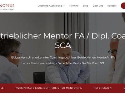 Coachingplus (Seminare & Beratung):