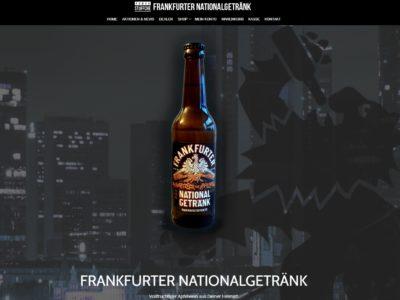 Apfelwein, das Frankfurter Nationalgetränk