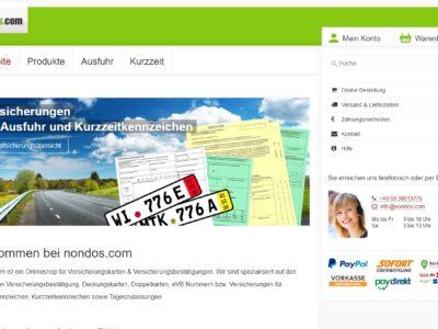 Anleitungsvideo nondos.de