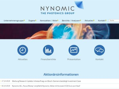 NYNOMIC – THE PHOTONICS GROUP